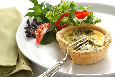 Bite Size Quiche Lorraine[ File # csp4508962, License # 1231047 ]Licensed through http://www.canstockphoto.com in accordance with the End User License Agreement (http://www.canstockphoto.com/legal.php)(c) Can Stock Photo Inc. / robynmac